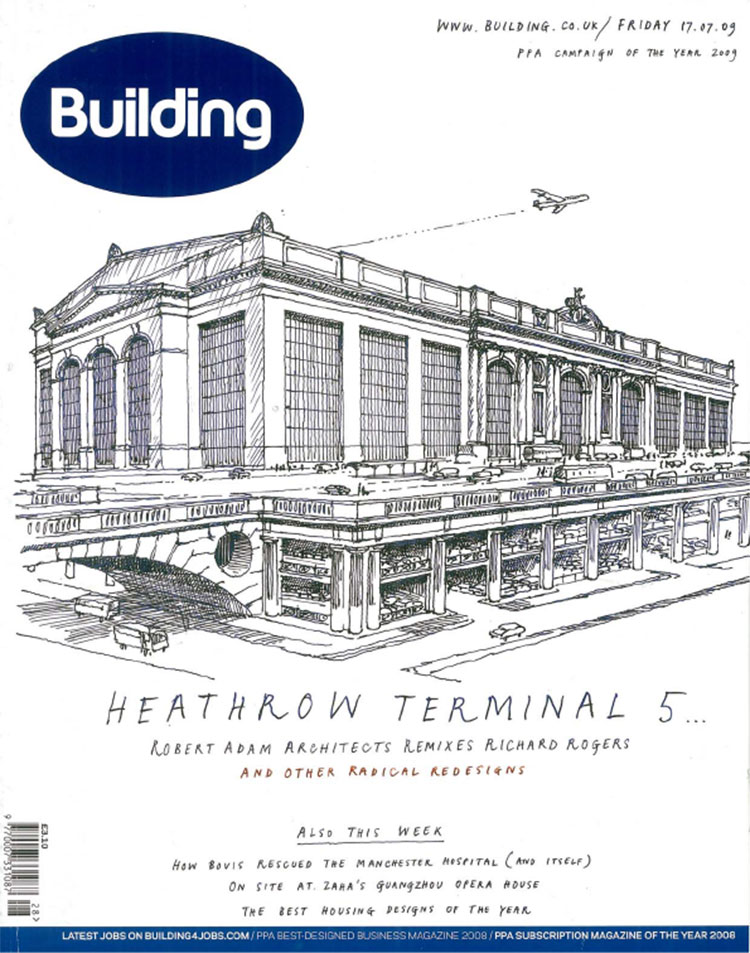 Feix&Merlin Architects Tower of London – Building Magazine, June 2009