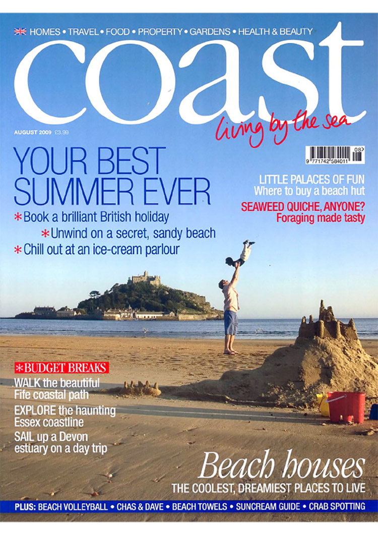 Feix&Merlin Architects Beach Hut – Coast Magazine, August 2009