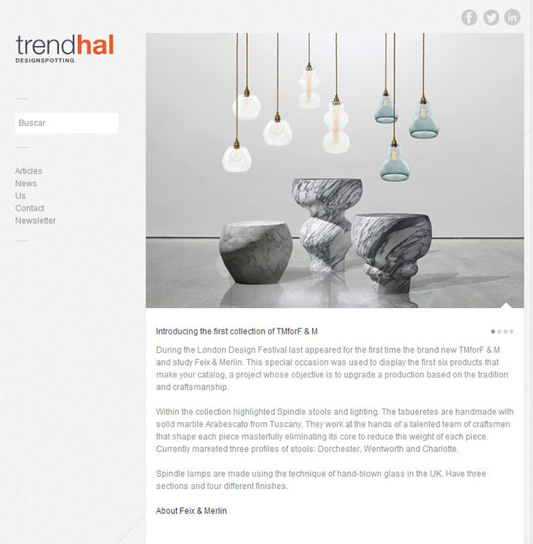 Feix&Merlin Architects TM for F&M – Trendhal, October 2013