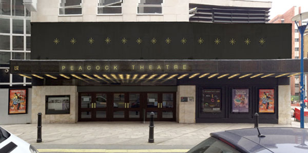 Peacock Theatre in for planning!