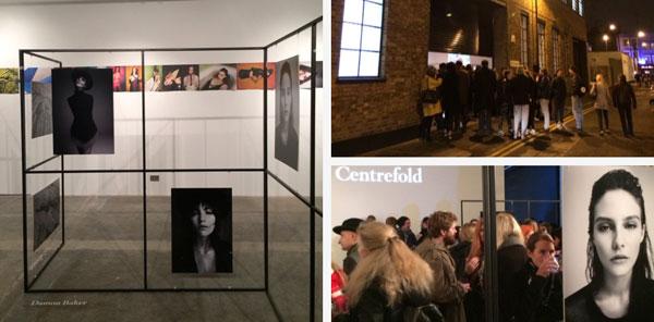 New Inn Yard Centrefold magazine launch