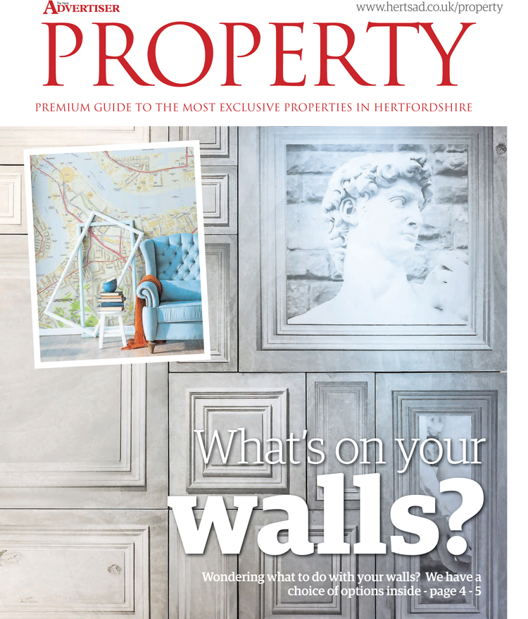F&M's Concrete Panels featured in the Herts Advertiser Property Section