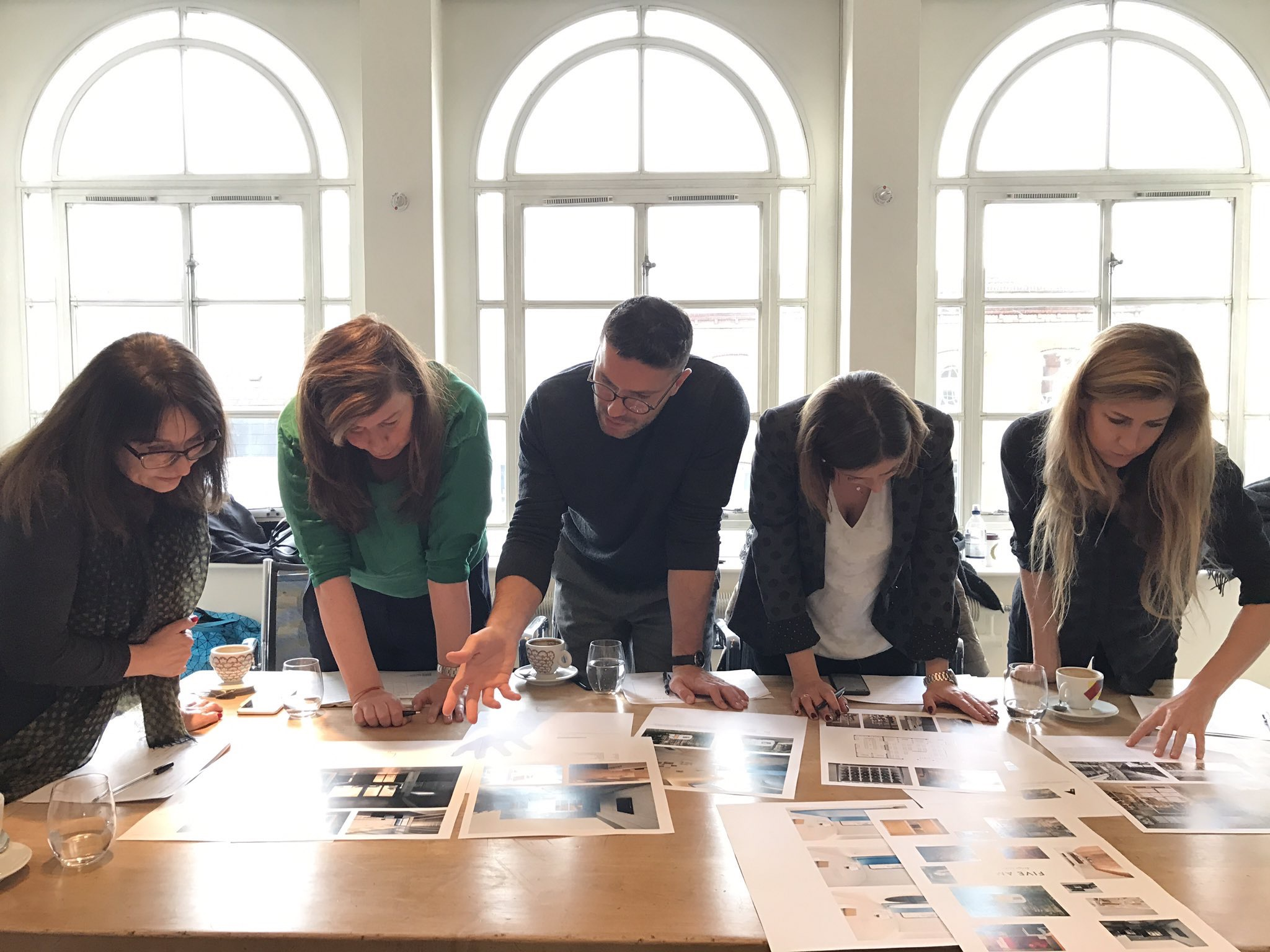 Judging panel for Emerging Interior Practice of the Year