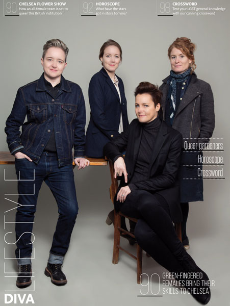DIVA Lifestyle Magazine feature all female design team at Chelsea Flower Show 2017
