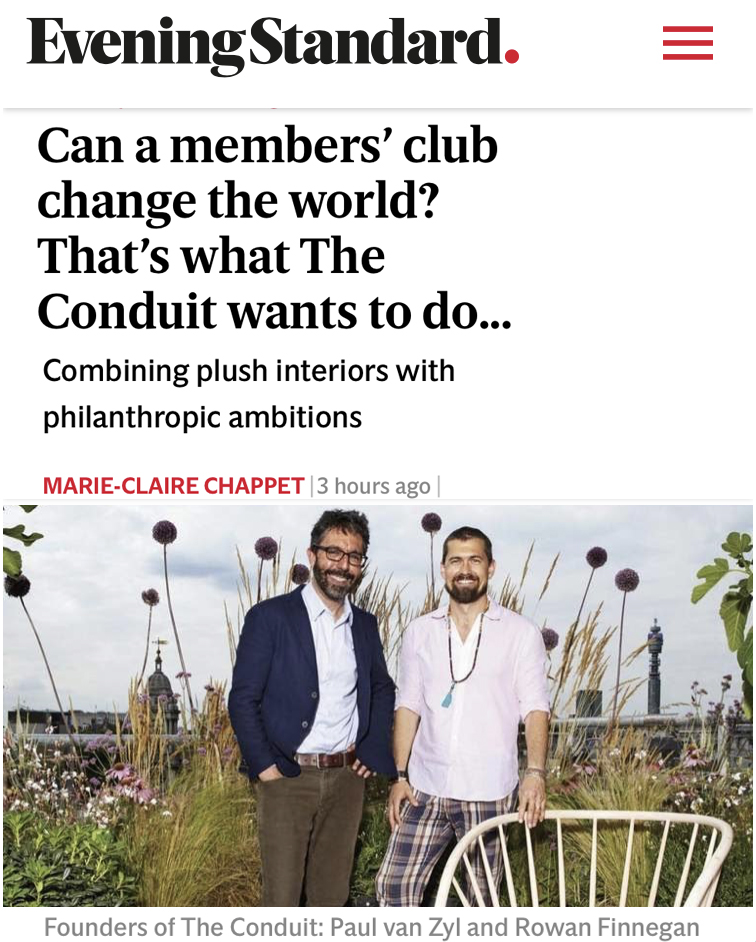 Can a members' club change the world?
