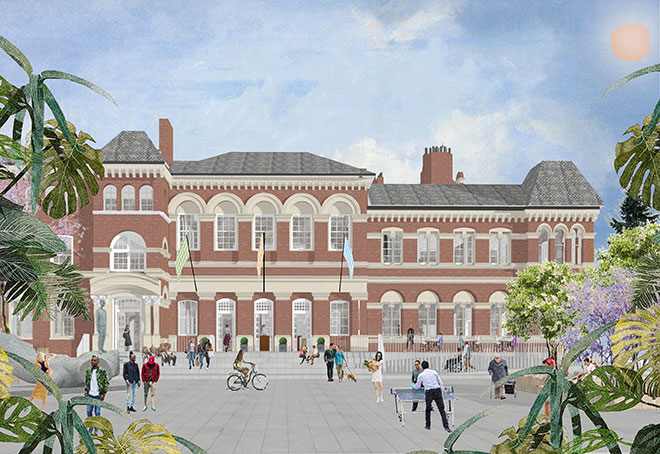 Feix&Merlin down to the final two in competition to restore Walworth Town Hall