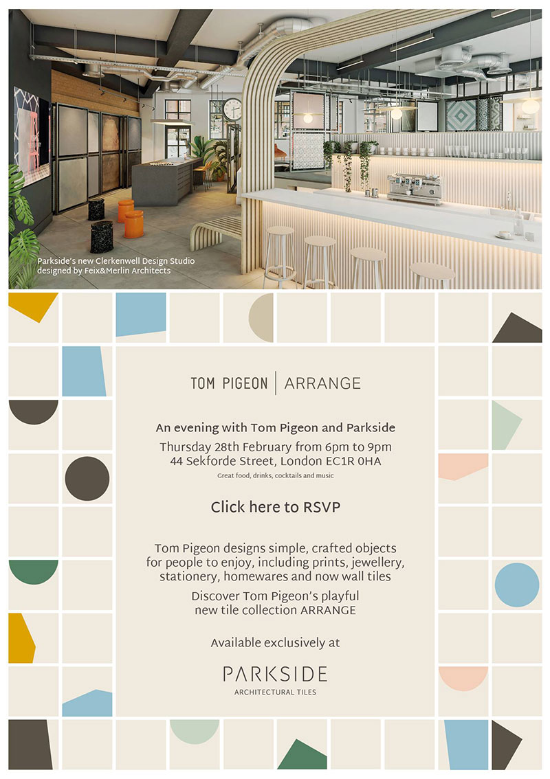 LAUNCH PARTY: Parkside's new Clerkenwell Design Studio