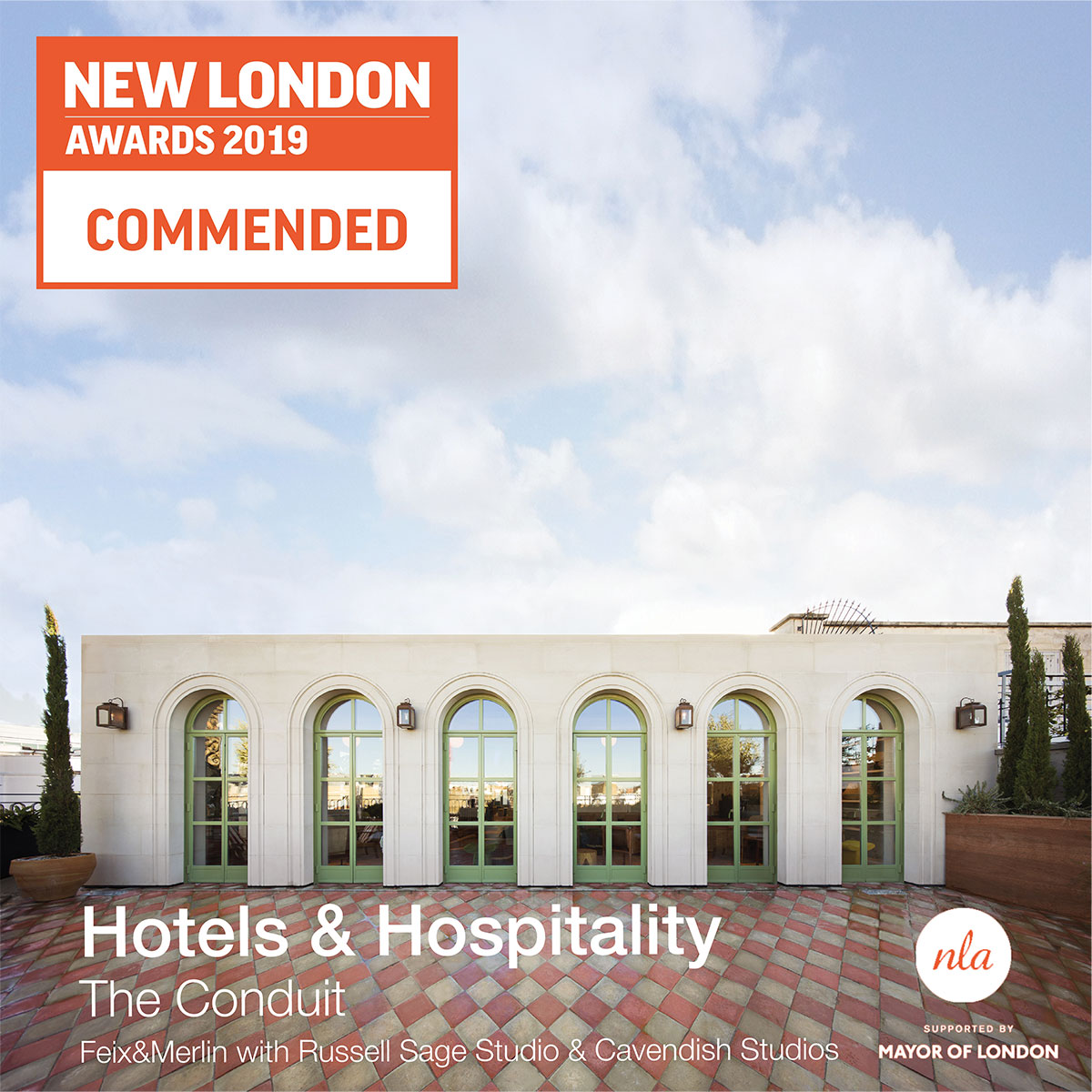 COMMENDED New London Awards 2019