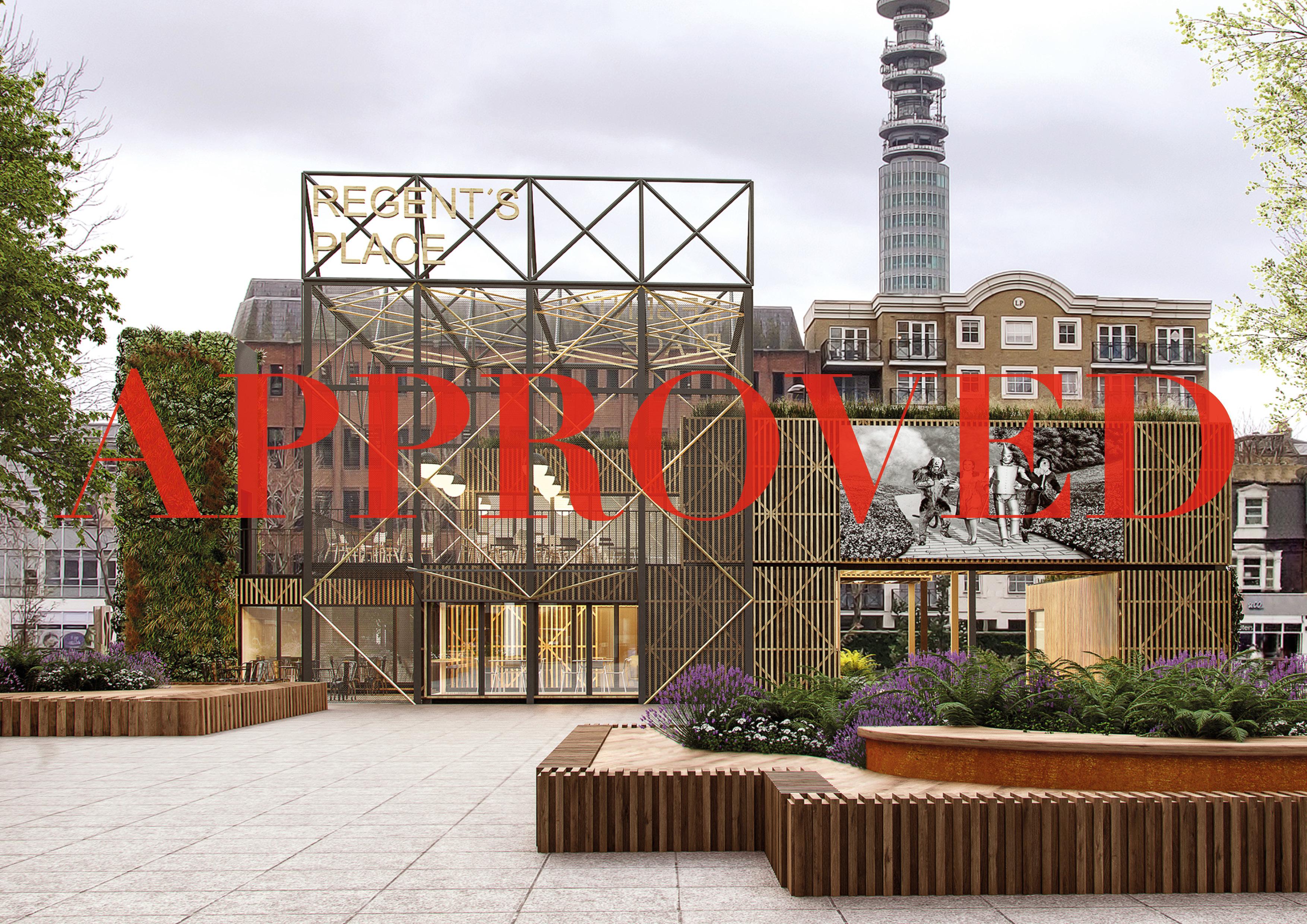 Regent's Place Pavilion Approved!