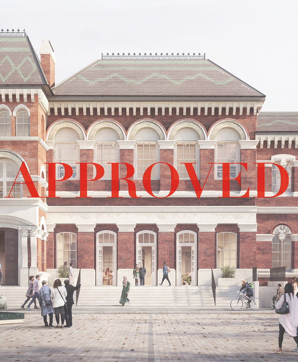 Walworth Town Hall Granted Planning Permission